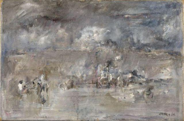 Au bord du désert - Theo Gerber