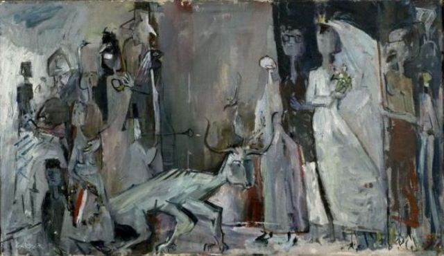 Marriage, 1955 - Theo Gerber