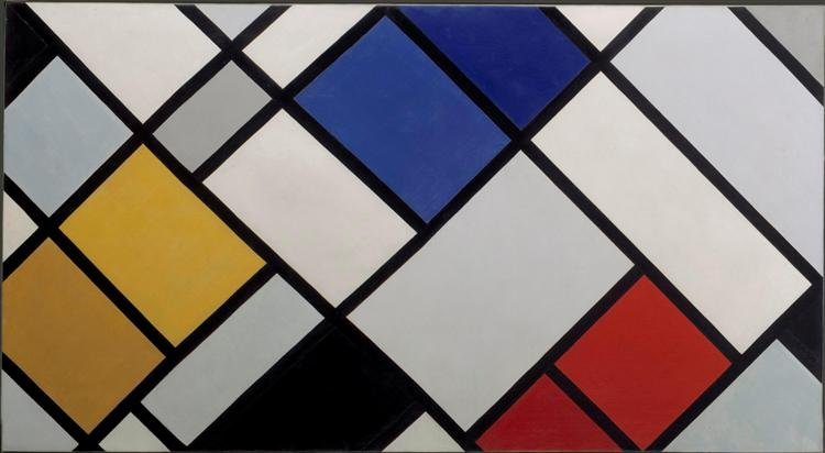 Contra-Composition of Dissonances, XVI, 1925 - Theo van Doesburg