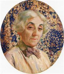 Portrait of Maria van Rysselberghe - Théo van Rysselberghe