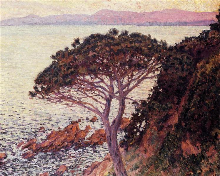 Sunset, 1916 - Theo van Rysselberghe