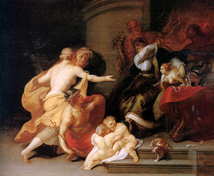 Το Discord Expels Art and Science - Theodoor van Thulden