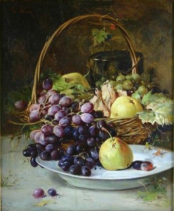 Fruit Basket - Theodor Aman
