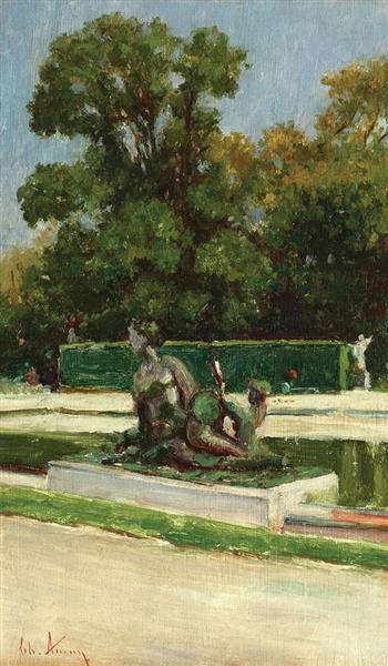 Jardin du Luxembourg - Theodor Aman