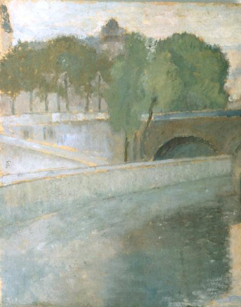 Bridge Over Seine - Theodor Pallady