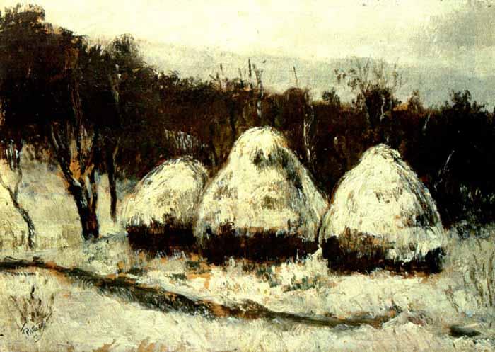 Haystacks - Theodor Pallady