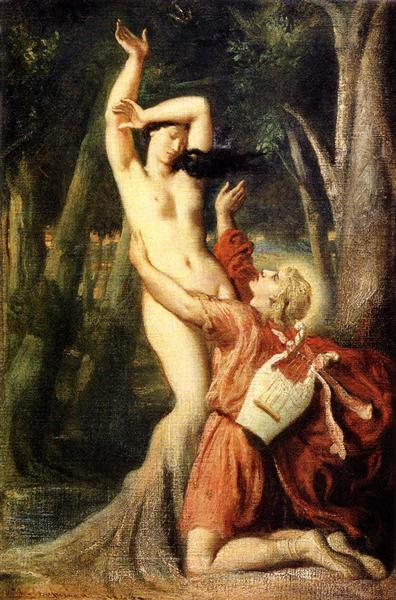 Apollo and Daphne, 1845 - Theodore Chasseriau