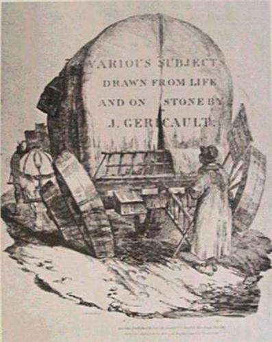 Ahitched wagon - Theodore Gericault
