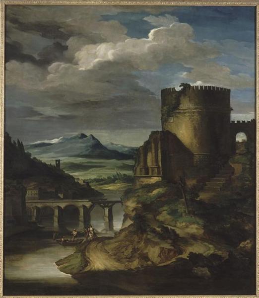 Paysage Classique: Matin - Théodore Géricault