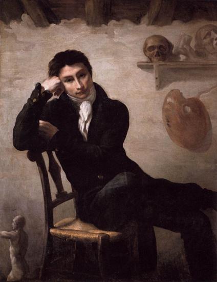 Self-Portrait, c.1820 - Théodore Géricault
