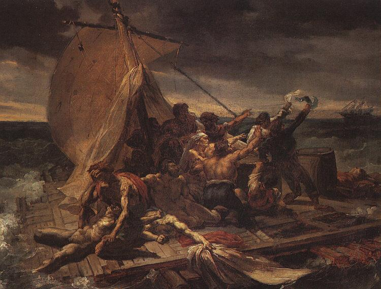 Study for The Raft of the Medusa, 1819 - Theodore Gericault