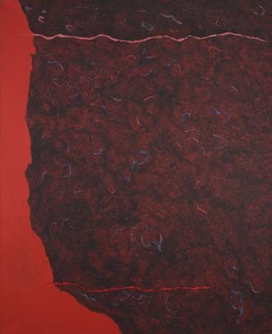 Edge of Burning Brush, 1986 - Theodoros Stamos