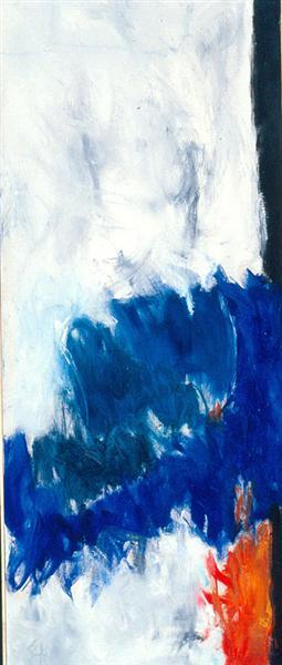Edge of Day, 1961 - Theodoros Stamos
