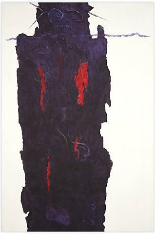 Infinity Field, Torino Series #7, 1986 - Theodoros Stamos
