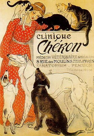 Clinique Cheron - Theophile Steinlen