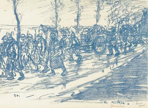 Convoy - Theophile Steinlen