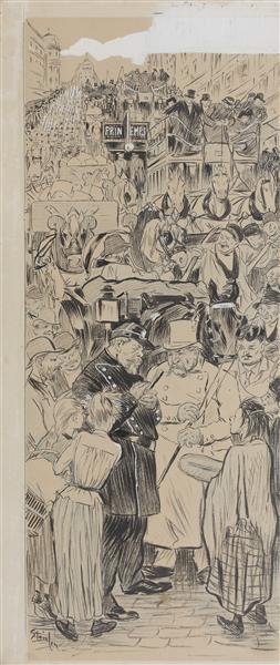 L'Encombrement - Theophile Steinlen