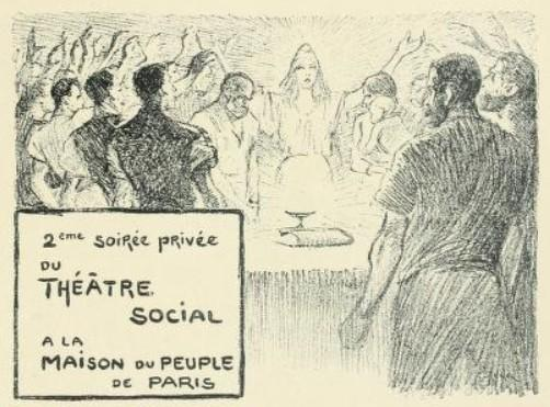 La Paque Socialiste, 1894 - Theophile Steinlen
