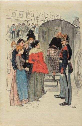 La Rafle, 1894 - Теофіль Стейнлен