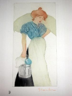 Laundress, 1898 - Theophile Steinlen