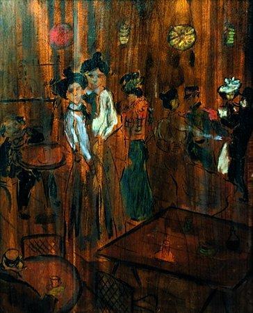Le Bar - Theophile Steinlen