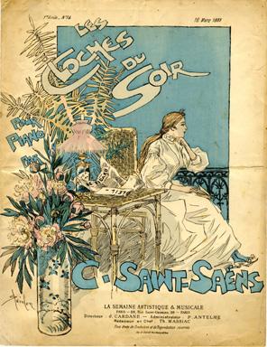 Les Cloches du Soir, 1889 - Theophile Steinlen