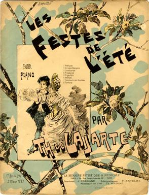 Les Festes de L'Ete, 1889 - Theophile Steinlen