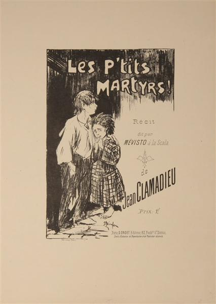 Les P-tits Martyrs, 1892 - Теофіль Стейнлен