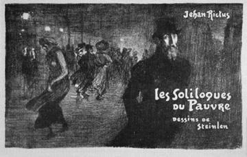 Les Soliloques du Pauvre - Theophile Steinlen