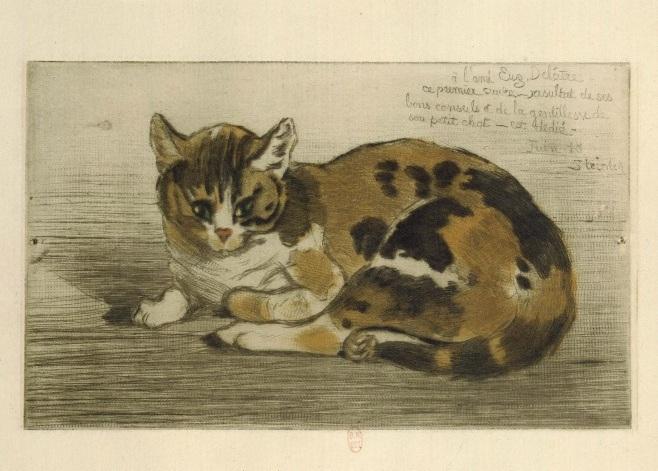 Little Cat, 1898 - Theophile Steinlen