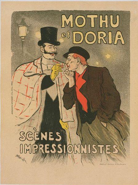 Mothu et Doria - Theophile Steinlen