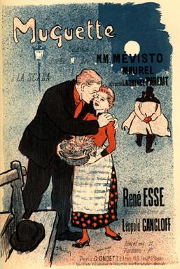 Muguette, 1892 - Théophile-Alexandre Steinlen