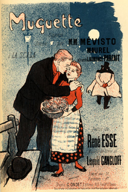 Muguette, 1892 - Theophile Steinlen
