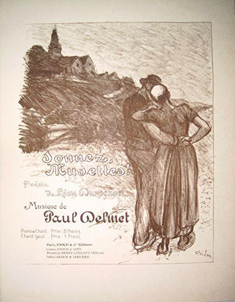 Musettes-gross - Theophile Steinlen