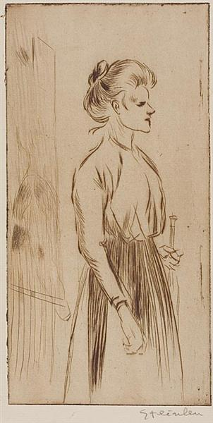 Pierreuse, 1898 - Theophile Steinlen