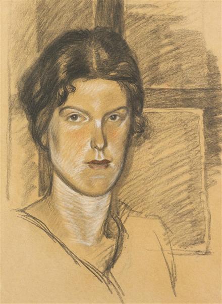 Portrait de Mme Bjornsson Langen - Theophile Steinlen