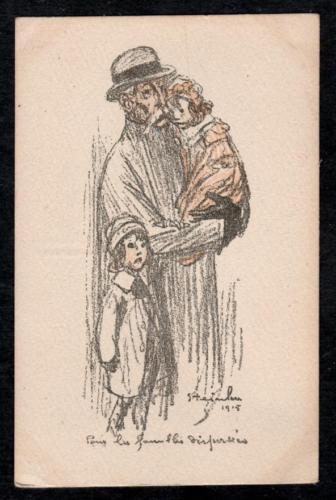 Pour Les Familles Dispersees, 1916 - Theophile Steinlen