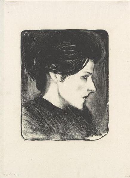 Type Populaire Du Profil - Theophile Steinlen