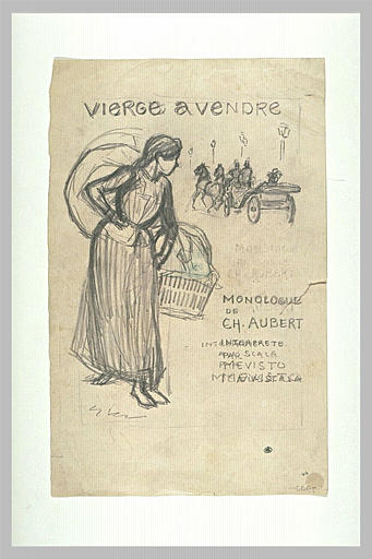 Vierge a Vendre - Theophile Steinlen