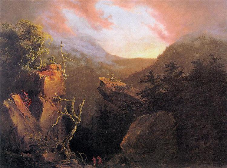 Mountain Sunrise, 1826 - Thomas Cole