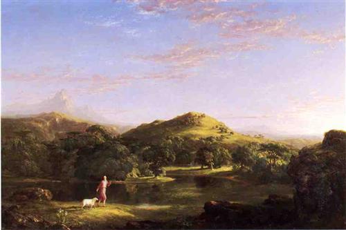The Good Shepherd - Thomas Cole