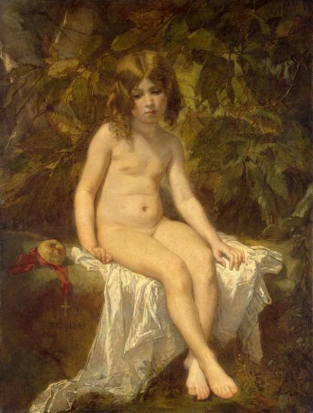 Little Bather - Thomas Couture