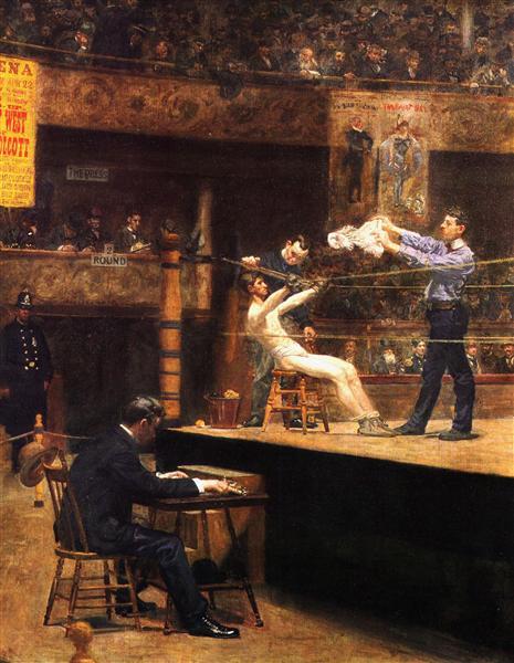 Between Rounds, 1898 - 1899 - Thomas Eakins