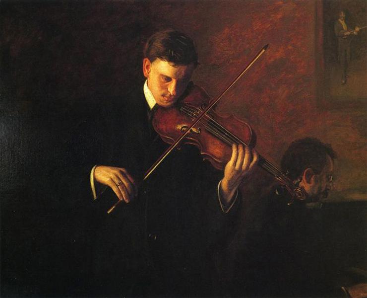 Music, 1904 - Thomas Eakins