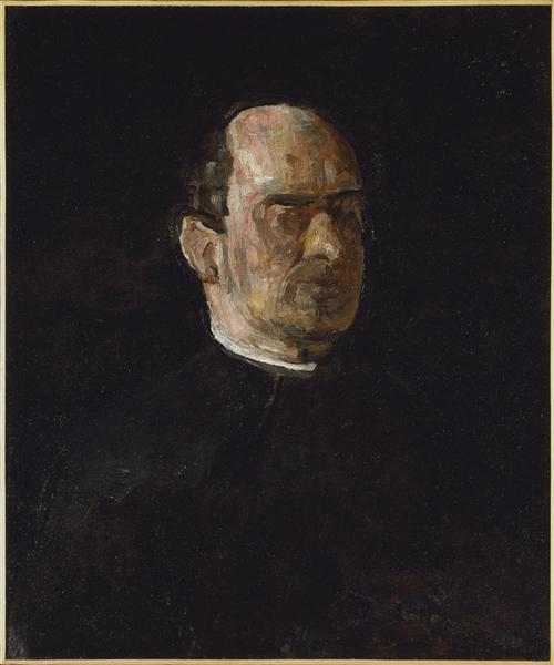 Portrait of Dr. Edward Anthony Spitzka, c.1913 - Thomas Eakins
