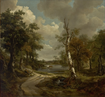 Drinkstone Park (Cornard Woodland), c.1747 - Thomas Gainsborough