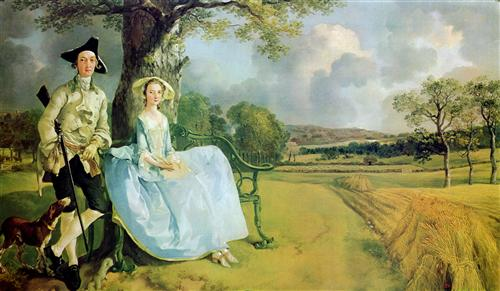 Mr. and Mrs. Andrews - Thomas Gainsborough