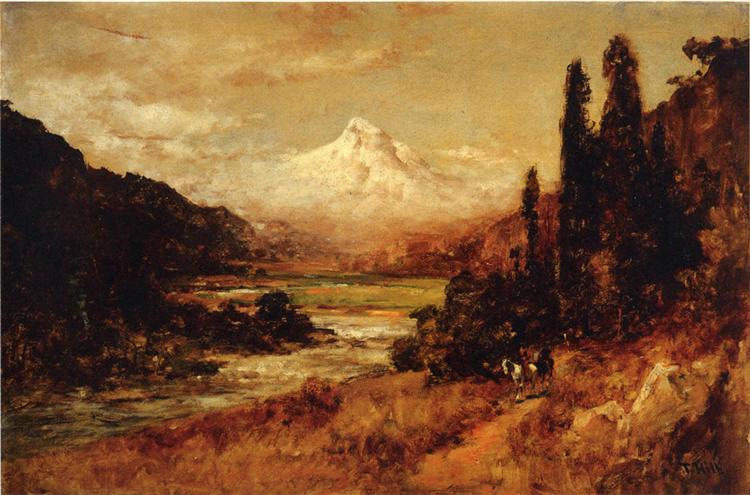 Mount Hood - Thomas Hill
