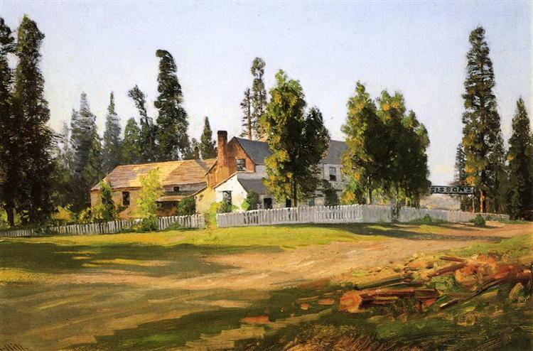 Sisson's Inn, near Mount Shasta - Thomas Hill
