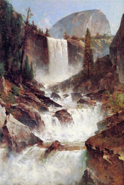 Vernal Falls, Yosemite - Thomas Hill